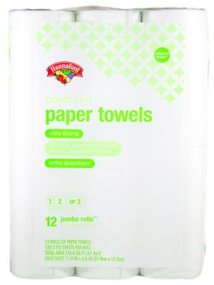 Hannaford Premium Jumbo Paper Towels Choose A Size