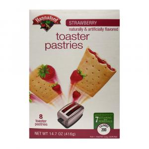 Hannaford Strawberry Toaster Pastries