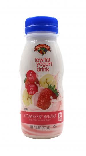 Hannaford Strawberry Banana Lowfat Smoothie