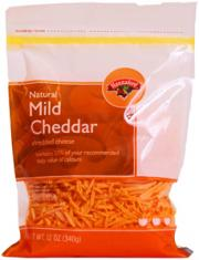 Hannaford Yellow Mild Cheddar Shredded Cheese