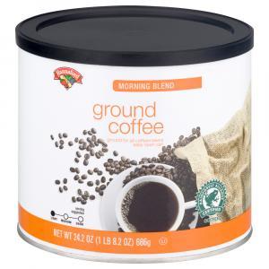 Hannaford Morning Blend Ground Coffee