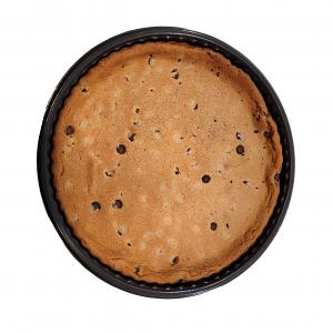"""9"""" Uniced Chocolate Chip Message Cookie"""
