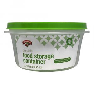 Hannaford 5.2-cup Food Storage Round Container