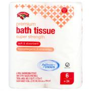 Hannaford Premium Super Strength Mega Roll Bath Tissue