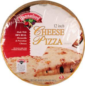 """Hannaford 12"""" Cheese Pizza"""