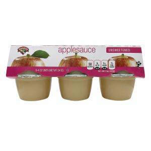 Hannaford Unsweetened Applesauce