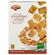 Hannaford Bite Size Shredded Wheat Cereal