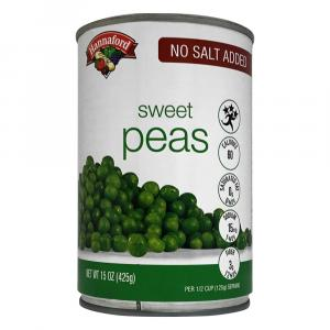 Hannaford No Salt Added Sweet Peas