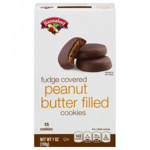 Hannaford Peanut Butter Fudge Filled Cookies