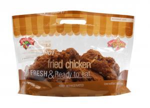 Hand Battered 8-Piece Fried Chicken - Hot