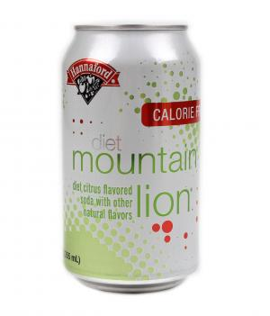 Hannaford Diet Mountain Lion Soda