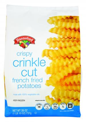 Hannaford Extra Crispy Crinkle Cut French Fried Potatoes