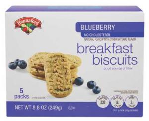 Hannaford Blueberry Breakfast Biscuits