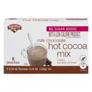 Hannaford No Sugar Added Hot Cocoa Mix