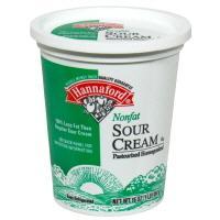 Hannaford Nonfat Sour Cream