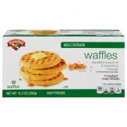 Hannaford Multigrain Waffles