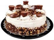 Triple Layer Peanut Butter Cake