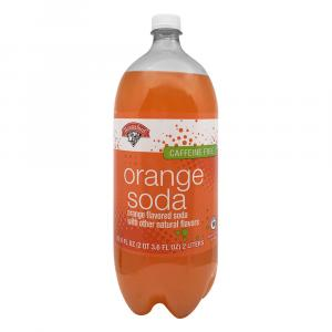 Hannaford Orange Soda