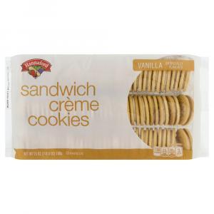 Hannaford Sandwich Creme Vanilla Cookies