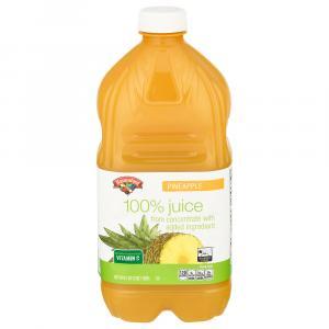 Hannaford 100% Pineapple Juice