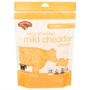 Hannaford Fancy Shredded Yellow Cheddar Cheese
