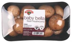 Hannaford Sliced Baby Bella Mushrooms