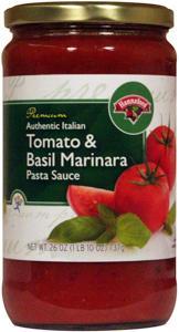 Hannaford Tomato & Basil Marinara Pasta Sauce