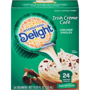 International Delight Irish Creme Cafe Creamer Singles
