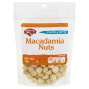 Hannaford Macadamia Nuts Roasted & Salted