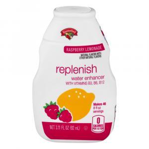 Hannaford Raspberry Lemonade Replenish Water Enhancer