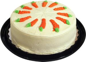 "9"" Double Layer Carrot Cake"
