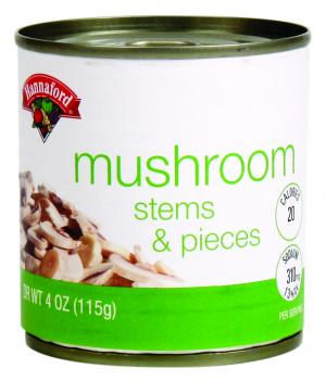 Hannaford Mushrooms Stems & Pieces