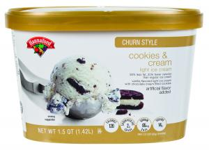 Hannaford Churn Style Light Cookies & Cream Ice Cream