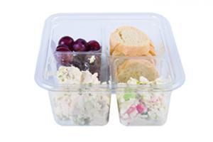 Chicken Salad Snack Tray