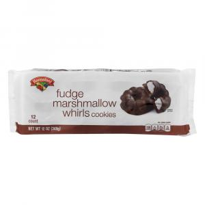Hannaford Fudge Marshmallow Whirl Cookies
