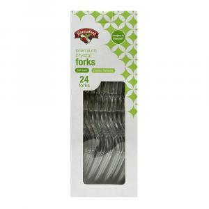 Hannaford Premium Crystal Forks