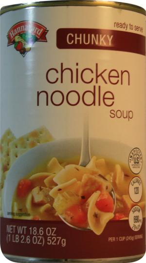 Hannaford Chunky Chicken Noodle Soup