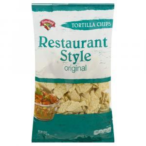 Hannaford Tortilla Chips Restaurant Style
