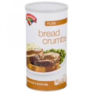 Hannaford Plain Bread Crumbs