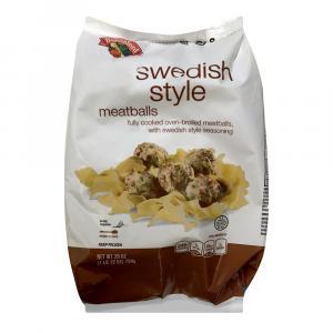 Hannaford Swedish Meatballs