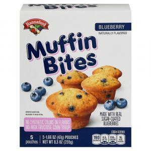 Hannaford Blueberry Muffin Bites