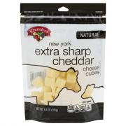 Hannaford New York Extra Sharp Cheddar Cheese Cubes