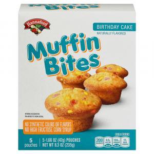 Hannaford Birthday Cake Muffin Bites
