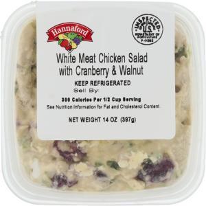 Hannaford Chicken Walnut & Cranberry Salad