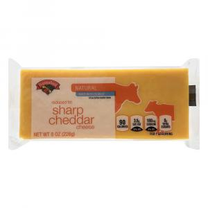 Hannaford Natural 2% Sharp Cheddar Cheese