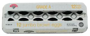 Hannaford Jumbo Brown Eggs