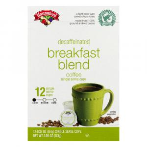Hannaford Breakfast Blend Decaffeinated Coffee