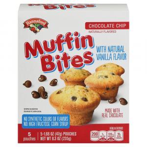 Hannaford Chocolate Chip Muffin Bites