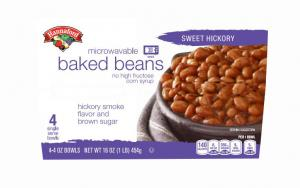 Hannaford Microwavable Baked Beans Sweet Hickory