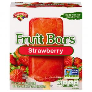 Hannaford Fruit Bars Strawberry